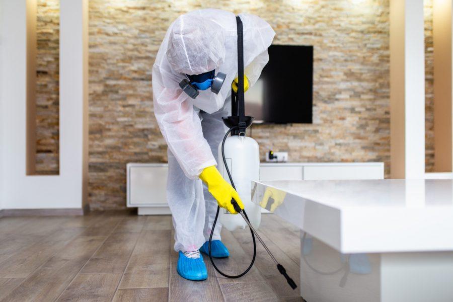 Patalpų dezinfekcija